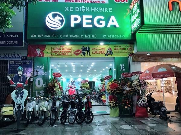 Địa chỉ cửa hàng bán xe đạp điện ở đâu tại quận Tân Phú