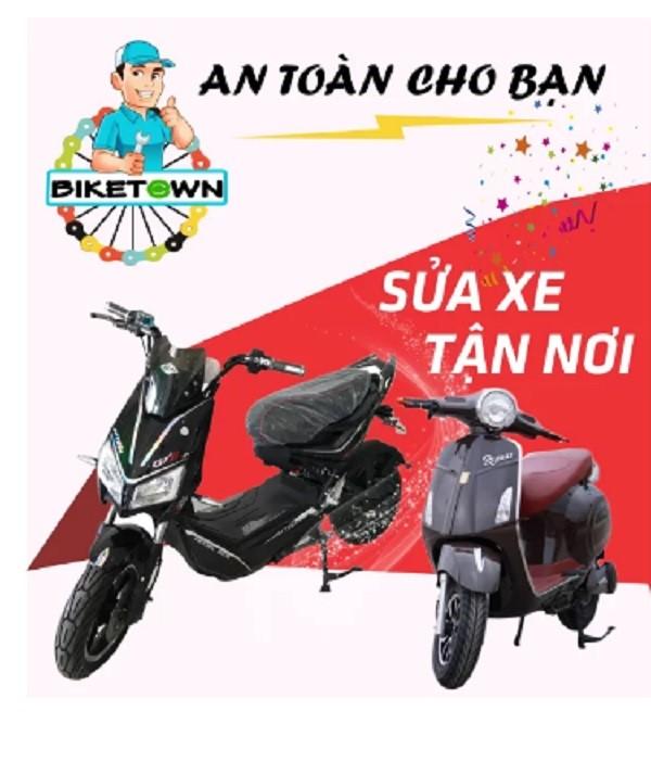 Cửa hàng bán xe đạp điện tại quận Tân Phú Bike Town