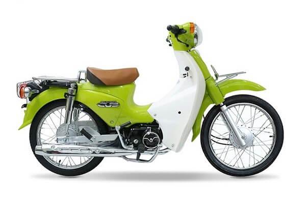 Xe cub 50cc năm 2018 màu xanh lá
