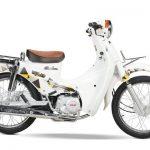 Xe cub 50cc Halim màu trắng