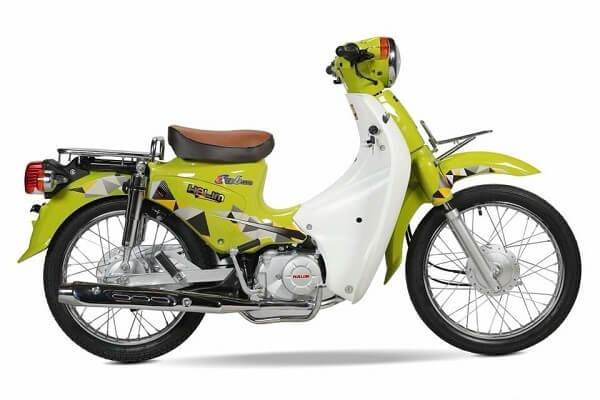 Mẫu xe cub 50cc màu xanh lá được yêu thích nhất hiện nay
