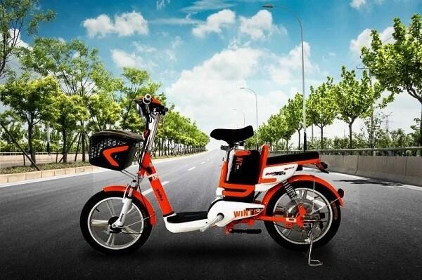 Xe đạp điện được thiết kế màu sắc đẹp, kiểu dáng sang chảnh