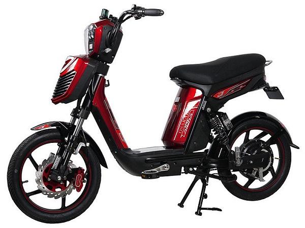 Xe đạp điện ALPHA với thiết kế đuôi xe kết hợp thân xe đã tạo nên một siêu phẩm đặc biệt hơn