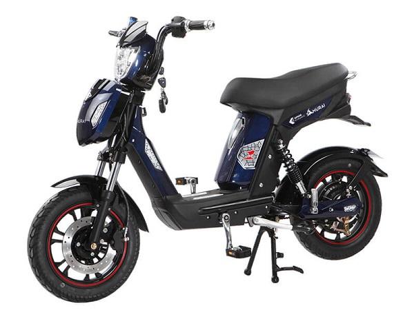 Xe đạp điện DK Samurai thiết kế thon gọn, trang bị động cơ thế hệ mới cùng hệ thống sạc điện tự ngắt đã khẳng định sự vượt trội hơn những dòng xe khác
