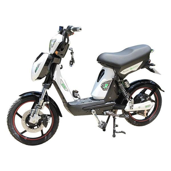 Xe đạp điện SAMURAI kiểu dáng gọn nhẹ, đơn giản, tông màu trẻ trung và động cơ vận hành êm ái