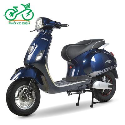 Xe máy điện JVC Vespas 2020 – Màu xanh trẻ trung