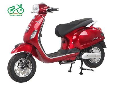 Xe máy điện JVC Vespas 2020 – Màu đỏ cá tính