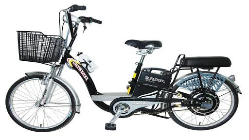 Thiết kế của xe đạp điện Asama