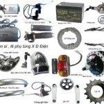 Phụ tùng xe đạp điện dùng để thay thế những bộ phận hỏng hóc, giúp tiết kiệm chi phí