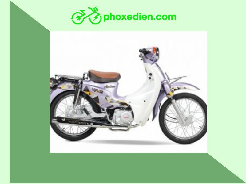 Xe cub 50 cc Halim đến từ Hàn Quốc với thiết kế đơn giản được ưa chuộng