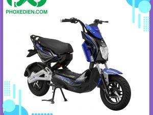 Xe máy điện Xmen Star màu xanh - Phố xe điện