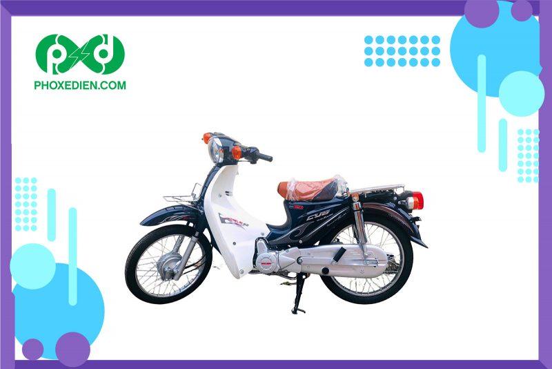 Xe-máy-cub-50-–-Màu-xanh-đậm