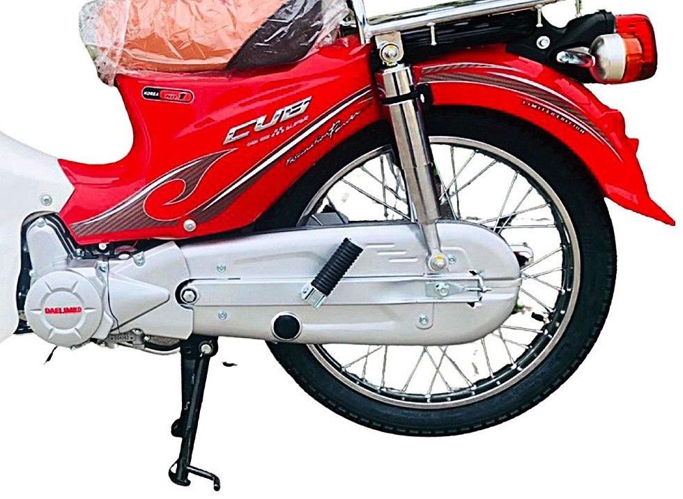 Xe máy Cub 50 thiết kế mang đậm phong cách hiện đại và cổ điển